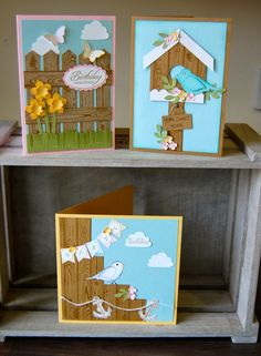 Stampin' Up! Card by Julie K: Hardwood Fence