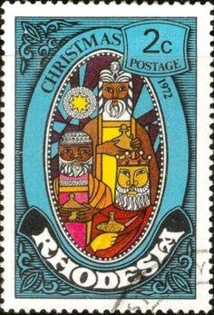 Stamp: The Three Kings (Rhodesia) (Christmas) Mi:RH 123,Yt:RH 217,Sg:RH 477