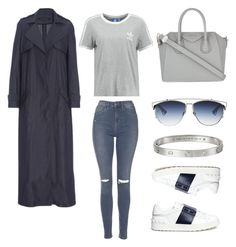 """""""Look:#235"""" by dollarwomanlux ❤ liked on Polyvore featuring Topshop, adidas Originals, Givenchy, Christian Dior, Sally Lapointe, Valentino and Cartier"""