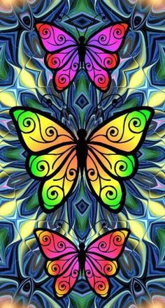 Butterfly Drawing, Butterfly Painting, Butterfly Wallpaper, Wallpaper Backgrounds, Iphone Wallpaper, Wallpapers, Butterfly Pictures, Beautiful Butterflies, Painted Rocks