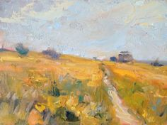 Plein Air Landscapes  Red Rock, Howth by Norman Teeling on ArtClick.ie
