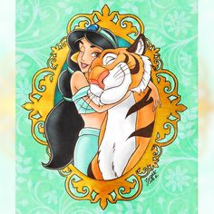 Disney Princess Cartoons, Disney Princess Fashion, Disney Princess Jasmine, Disney Girls, Aladdin Art, Aladdin Movie, Arte Disney, Disney Art, Disney Dream