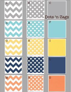 Dots 'n Zags  Custom Baby Crib Bedding Design Your Own  by MissPollysPieceGoods, $260.00