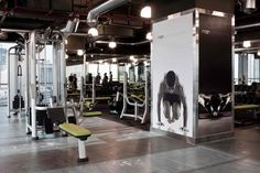 RUSH GYM -Kuwait by Raw Design Studio - Kuwait , via Behance