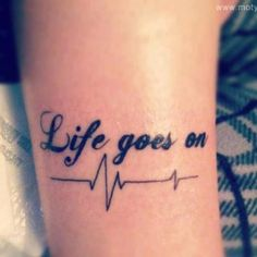 get a meaningful tattoo. thinking this one right under my collarbone minus weird hospital thing, because i hate hospitals:p