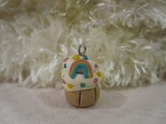 Cupcakes - Kuku Bat #polymerclay #handmade #diy #kawaii #charms #sprinkles #cute #adorable #rainbow #pastel