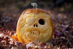 Pumpkin carver says reactions to his work part of the fun; shares carving tips (Photos/Videos) Diy Halloween Decorations, Halloween Makeup, Halloween Ideas, Pirate Pumpkin, Scary Pumpkin Carving, Pumpkin Carver, Art Inspo, Festive, Costumes