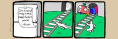 The Perry Bible Fellowship - Suicide Train Perry Bible Fellowship, Identity Theft Statistics, Sad Child, Best Insults, You Funny, Funny Stuff, It's Funny, Humor Grafico, Cutest Thing Ever