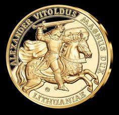 """2015 m. - """"Vytautas Didysis"""" - tryliktasis medalis iš kolekcijos """"Didingoji Lietuva""""."""