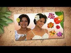 Hawaiian Floral Hair Clips