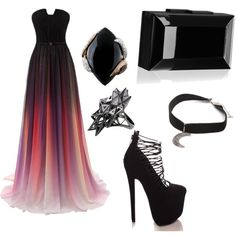 gothic queen by tiffanyedinger on Polyvore featuring polyvore fashion style Rauwolf Luca Carati Gypsy Warrior John Brevard