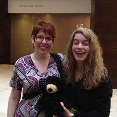 @jsmithready & Jenna black ... Jeri has her purity bear...