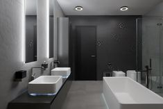 Bathroom Vanity - Hans Krug brings the latest in style, functionality and design through a comprehensive solution for the interior of your home. Bathroom Lighting, Bathtub, Vanity, Mirror, Bathroom Vanities, Furniture, Design, Home Decor, Bathroom Light Fittings