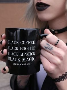 Black Magic Mug - Gypsy Warrior #gypsywarrior #whatsnewcontest