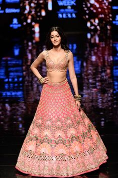 New Arpita Mehta 2019 Lakme Fashion Week Collection Indian Wedding Gowns, Indian Bridal Fashion, Bridal Fashion Week, Indian Dresses, Indian Outfits, Indian Clothes, Indian Weddings, Indian Designer Outfits, Designer Dresses