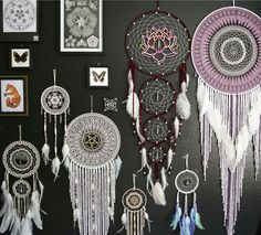 The shop is officially updated with all new dream catchers Find yours here ~ www.aurvgon.com
