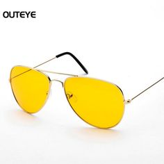 $1.59 (Buy here: https://alitems.com/g/1e8d114494ebda23ff8b16525dc3e8/?i=5&ulp=https%3A%2F%2Fwww.aliexpress.com%2Fitem%2FFancy-Night-Driving-Aviator-Pilot-Polarized-Sunglasses-Men-Metal-Frame-Yellow-Lense-Night-Vision-Goggles-Brand%2F32720746815.html ) OUTEYE New Arrival Night Driving Sunglasses Men Metal Frame Yellow Lense Night Vision Goggles Brand Men's Sun Glasses Wholesale for just $1.59