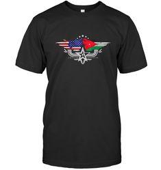 Djiboutian American Flag T Shirt Djibouti National Flag T Shirt Cape, Armenian American, Dominican Republic Flag, National Flag, Tee Design, Vintage Tees, American Flag, Custom Shirts, Classic T Shirts