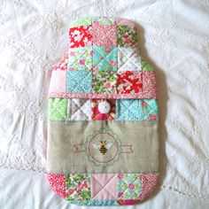 hexi cushion | SEWING | Pinterest | Cushions : quilted hot water bottle cover - Adamdwight.com