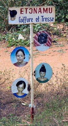 Hairdresser . Benin