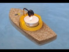 How to Make a Steam Boat with a Candle - YouTube
