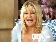 Somers Talks Sex with The Real Housewives of Beverly Hills Suzanne summers 2013 Short Shag Haircuts, Haircuts With Bangs, Long Bob Hairstyles, Crown Hairstyles, Layered Haircuts, Medium Hair Styles, Short Hair Styles, Bob Haircut For Fine Hair, Blonde Layers