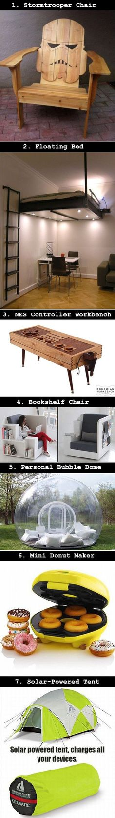 I want most of these things! Not really the game table or storyteller chair