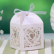 Delicate Heart Design Hollow-out Favor Box (S... – AUD $ 12.12
