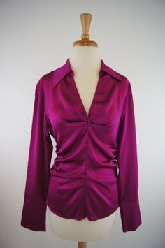 Donna Degnan Blouse - Fushia, Made in the USA