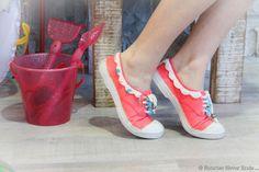 Bensimon Tennis Shoes, DIY