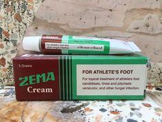 ZEMA CREAM Athlete's foot Candidiasis Tinea Versicolor Pityriasis Anti-fungal 5g #ZEMA