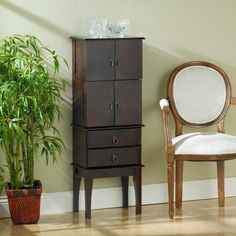 Deluxe Jewelry Armoire | 40plusstyle.com