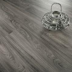 Aqua Woods Luxury Click Vinyl Grey Oak Extra Wide Flooring  #DreamKitchen