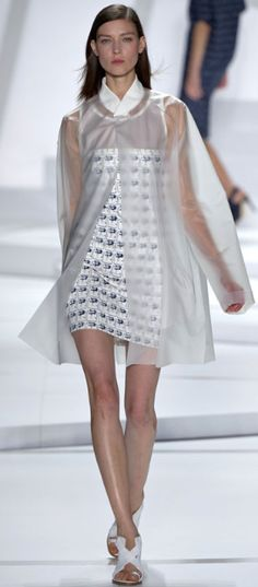 chic transparency- Kati Nescher for Lacoste Spring 2013