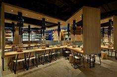 Yakiniku Master Restaurant by Golucci International Design, Shanghai – China , http://www.interiordesign-world.com/yakiniku-master-restaurant-by-golucci-international-design-shanghai-china/