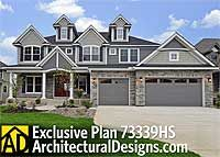Storybook House Plan With 4 to 6 Bedrooms