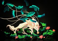 """""""Amaterasu, origin of all that is good and mother to us all""""It's been really so long since I wanted to do an okami fanart. I guess now I kicked myself to finally do one. Infinity Judge is totally my favorite weapon in the game. it looks so cool and mysterious"""