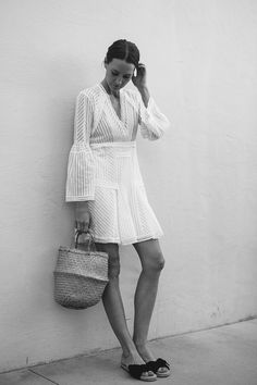 Spring is almost here. Ring them bell sleeves this spring with these sweet sundresses.