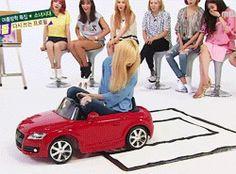 子供用おもちゃ自動車に、スッポリ乗れる5歳児テヨン☺ FanArt&gif&動画 - TAEYEON CNDY NEWS ☺ snsd