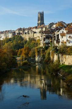 Fribourg, Switzerland. Took this exact pic on first investigating trip tp CH...