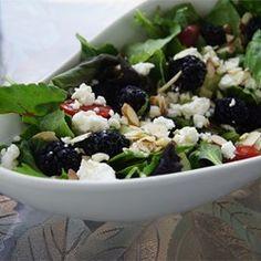 Blackberry Spinach Salad - Allrecipes.com