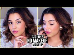 Easy DRUGSTORE No Makeup // Makeup Look! #FUNtasticFebruary - YouTube