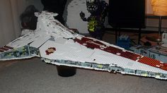 StarWars UCS Republic Attack Cruiser