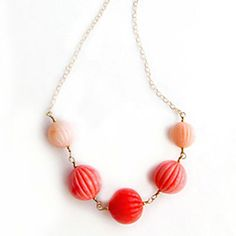 DIY Beaded Wire Wrapped Necklace