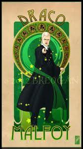 Draco via Art Nouveau