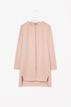 Cos Round-neck crepe blazer €125