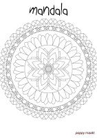 This colouring page you can download for FREE in PDF format on my blog. Don't forget to checkout my other colouring pages as well. Alle colouring pages are designed and made by me; Poppy. Have fun!  #PoppyMaakt #mandala #zentangle #colouring #page #colouringpage #kleurplaat #free #download #gratis #PDF #printable #printables #knutselplaat #flower #floral #dreamcatcher #dromenvanger #dreaming #dreams #dromen #wreath #DIY #krans #doehetzelf
