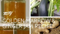 Tasty Golden Marrow and Ginger Jam Recipe Ginger Jam, Fresh Ginger, Cheese Grater, How To Make Jam, Ready To Pop, Jam Recipes, Jelly, Things To Do, Tasty