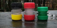 """Make your own Salt/Pepper Spice Containers or Small """"Jar"""""""