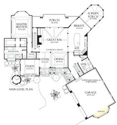 Plan of the Week over 2500 sq ft - The Solstice Springs 5011!  3570 sq ft, 3 beds, 3.5 baths. Spacious yet comfortable, this Craftsman-blend house plan is just as attractive on the interior as it is on the exterior. See the basement floor plan on our website! #WeDesignDreams